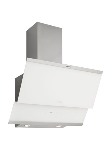 Silverline 3420.9.110.05 Classy Beyaz 90 Cm Cam Ankastre Davlumbaz Renkli